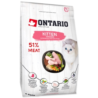 Ontario Kitten Chicken 6,5kg