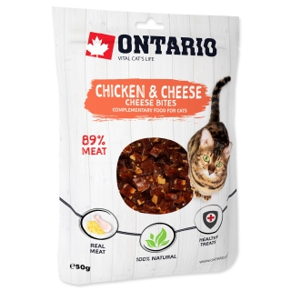 ONTARIO Chicken and Cheese Bites 50g