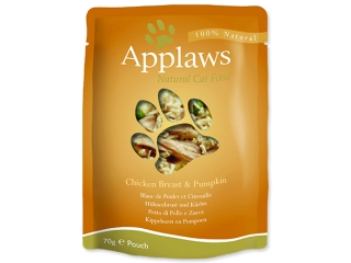 Kapsička APPLAWS Cat Chicken & Pumpkin 70g