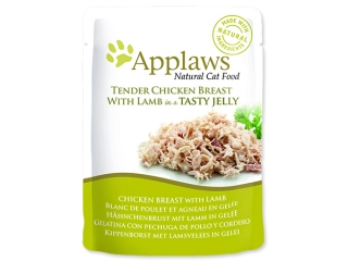 Kapsička APPLAWS Cat Pouch Chicken with Lamb in Jelly 70g