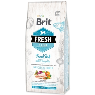 BRIT Fresh Fish with Pumpkin Adult Large 12kg