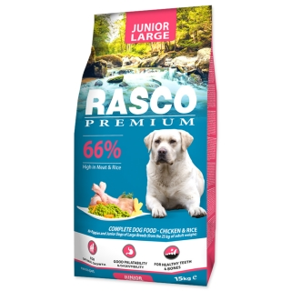 RASCO Premium Puppy / Junior Large 15kg