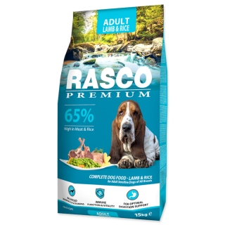 RASCO Premium Adult Lamb & Rice 15kg