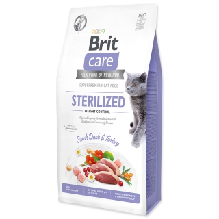 BRIT Care Cat Grain-Free Sterilized Weight Control 0,4kg